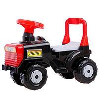 Машинка детская 'Трактор', цвет чёрный
