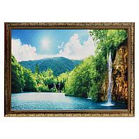 Гобеленовая картина 'Красота водопада' 53*73 см