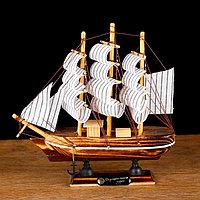 Корабль сувенирный малый 'Акару', 20 x 4,5 x 19 см