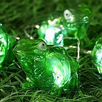 Светильник 'Старт. Сад', 4 LED-лягушки