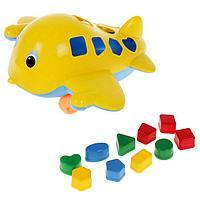 Развивающая игрушка 'Самолёт Кит' с сортером