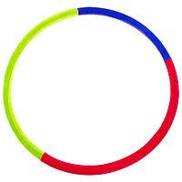 Обруч утяжелённый 'Идеальный силуэт', d100 см, 2,3 кг, цвета МИКС