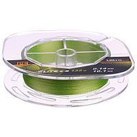 Леска плетёная Aqua Pe Ultra Elite Z-8, d0,14 мм, 135 м, нагрузка 10,1 кг