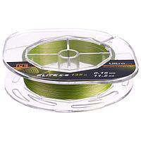 Леска плетёная Aqua Pe Ultra Elite Z-8, d0,16 мм, 135 м, нагрузка 11,2 кг