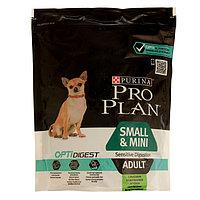 Сухой корм PRO PLAN для собак мелких пород с чувствительным пищеварением, ягненок, 700 г