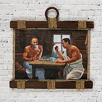 Сувенир свиток 'Путин в бане'