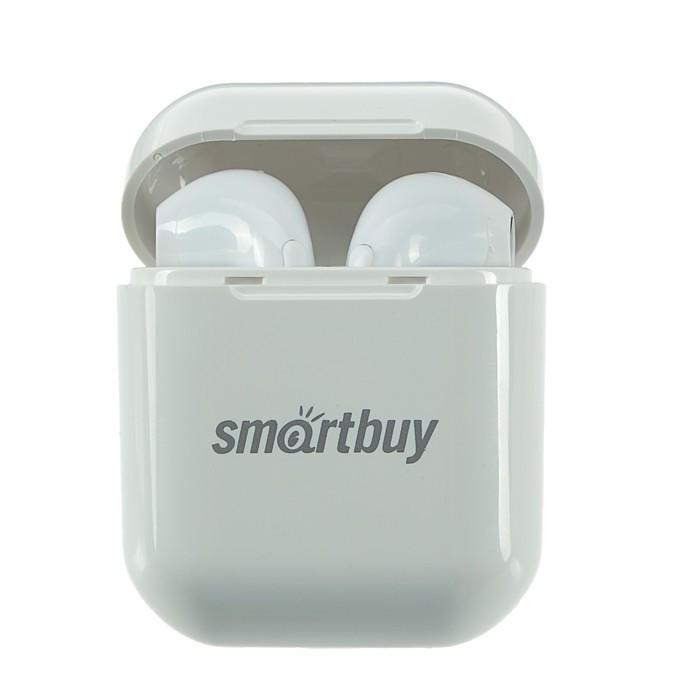 Наушники Smartbuy i8S SBH-3033, беспроводные, вкладыши, микрофон, BT v5.0, 40/400 мАч, белые - фото 3