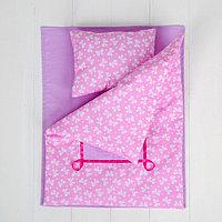 Постельное бельё для кукол 'Бантики', простынь, одеяло, подушка