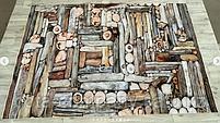 Коврик одинарный бамбуковый 2х3, фото 4