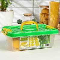 Набор посуды на 4 персоны 'В дорогу', 22 предмета, цвет МИКС