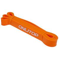 Эспандер ленточный, многофункциональный, 208 х 2,9 х 0,5 см, 11-36 кг, цвет оранжевый