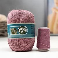 Пряжа 'Mink wool' 90 пух норки,10 полиамид 350м/50гр + нитки (851/1 пудра)
