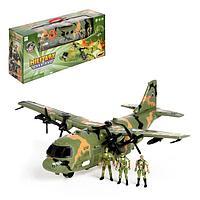 Самолет 'Армия' с солдатами, световые и звуковые эффекты