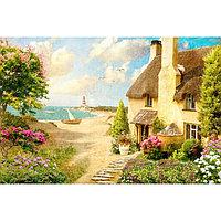 Картины на подрамнике 'Домик у моря' 40*50 см