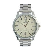 Часы наручные 'Тоничи', d4.5 см, классические, хром, ремешок 18 мм