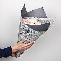 Бумага гофрированная в рулоне 'Газета', 0.68 x 5 м