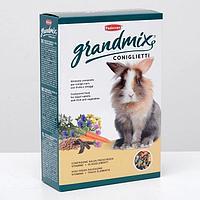 Корм Padovan GRANDMIX Coniglietti для кроликов, комплексный/основной, 850 г.