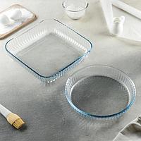 Набор посуды для запекания Borcam, 2 предмета 3,2 л, 1,95 л