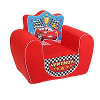 Мягкая игрушка-кресло 'Чемпион', цвет красный