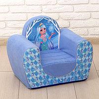 Мягкая игрушка-кресло 'Снежная принцесса'