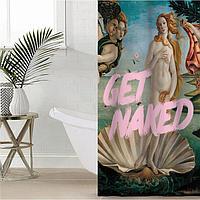 Штора для ванной Этель 'Get naked' 145 х 180 см, полиэстер