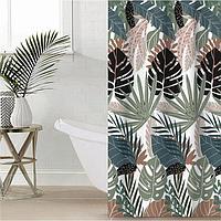 Штора для ванной Этель 'Tropic' 145 х 180 см, полиэстер