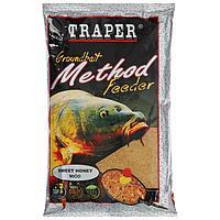 Прикормка Traper 'Метод фидер', мёд, 750 г