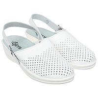 Туфли сабо женские 'Маша', цвет белый, размер 40