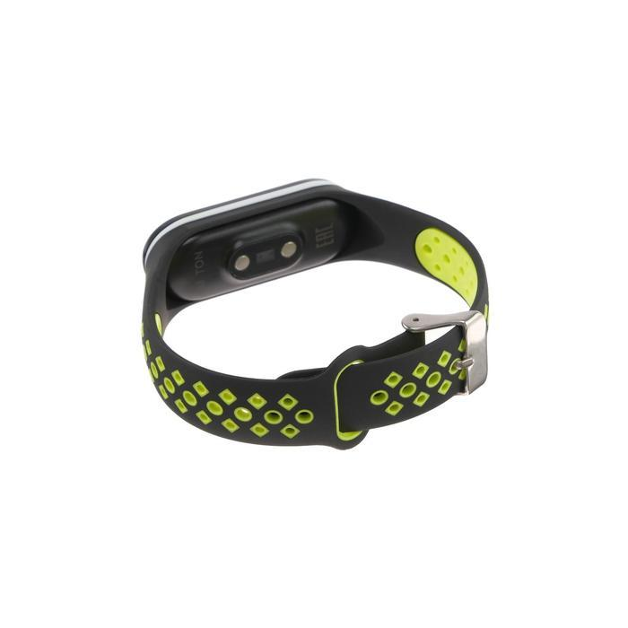 Фитнес-браслет Smarterra Fitmaster TON, 0.96, TFT, IP65, NFC, 90 мАч, чёрно-зеленый - фото 5