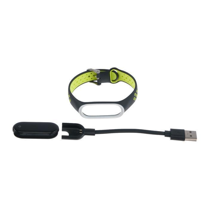 Фитнес-браслет Smarterra Fitmaster TON, 0.96, TFT, IP65, NFC, 90 мАч, чёрно-зеленый - фото 6