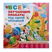 'Все обучающие плакаты под одной обложкой. От азбуки до таблицы умножения', Емельянова С. В.