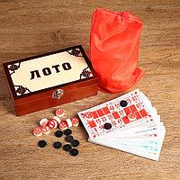Русско лото 'Подарочное', 48 шт, карточка 16.5 х 8.5 см, 90 бочонков