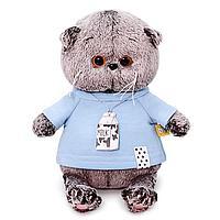 Мягкая игрушка 'Басик BABY' в голубой футболке, 20 см