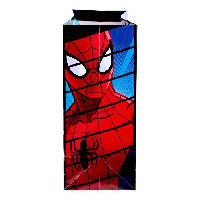 Пакет ламинированный горизонтальный 'Супер подарок',Человек-паук , 61 х 46 х 20 см - фото 2