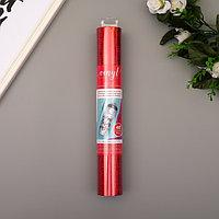 Клеевой винил American Crafts 'Crimson Holographic Glitter' 30.5х120 см