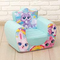 Мягкая игрушка-кресло 'Котята'