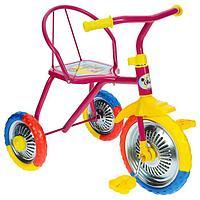 Велосипед трёхколёсный Micio TR-313, колёса 10'/8', цвет розовый