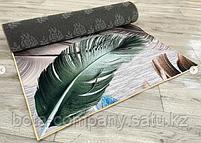 Коврик одинарный бамбуковый 1х2, фото 2