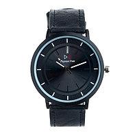 Часы наручные мужские 'Арес', d4.5 см, чёрный ремешок