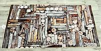 Коврик одинарный бамбуковый 1х2, фото 7