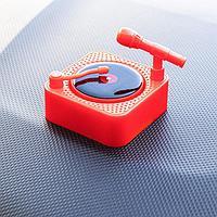 Аксессуар на панель, вращающаяся пластинка от солнца, красный