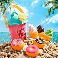 Набор для купания 'Вкусняшки' резиновые игрушки + лейка