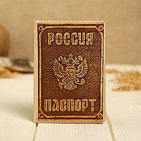 Обложка 'Россия', для паспорта, декорированная, береста
