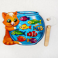 Магнитная рыбалка 'Кот', головоломка