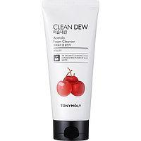 Пенка для умывания Tony Moly Clean Dew Acerola Foam Cleanser с экстрактом ацеролы, 180 мл
