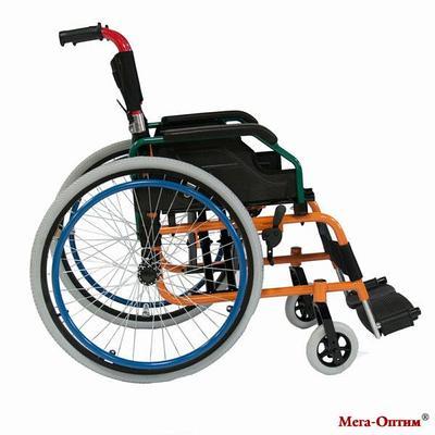 Инвалидная коляска   Мега-оптим FS 980 LA черная