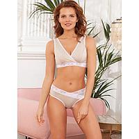 Комплект белья для кормления Carolina, цвет бежевый меланж, размер 42