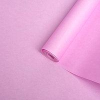 Бумага упаковочная крафт двусторонняя, светло-лиловый, 0,5 х 10 м, 70 г/м /м2