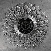 Часы настенные, серия Ажур, 'Пауль' d70 см, d24 см, 1 АА, плавный ход
