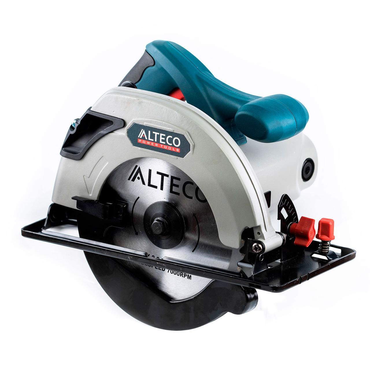 Циркулярная пила ALTECO CS 0510 (CS1400-185) 1300Вт 185х20мм 5000об/мин мах. глуб. пропила-60мм